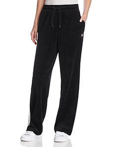 FILA BONNIE VELOUR PANTS. #fila #cloth #