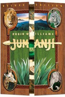 Jumanji - stars Robin Williams, Bonnie Hunt and many others you will probably recognize. Jumanji 1995, Jumanji Movie, Kid Movies, Great Movies, Movies To Watch, Excellent Movies, Awesome Movies, Movies Free, Family Movies