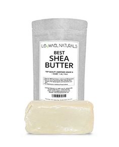 THE #1 Rated Organic Raw Unrefined Premium Grade A, Ivory Shea Butter ln The World By Leomael Naturals - FREE Shea Butter Recipes E-BooK - Best Top Quality Ingredient For DIY Skin Care Recipes - For Skin Moisturizers - For Dry or Acne - Prone Skin, Delicate Baby Skins, Eczema, Wrinkles, Stretch Marks - Color: IVORY - 1LB (16 OZ) - Fresh From Ghana Africa Best Rated Quality In The World. - http://essential-organic.com/the-1-rated-organic-raw-unrefined-premium-grade-a-ivory-she