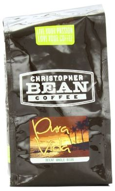 Christopher Bean Coffee Decaffeinated Ground Coffee, Decaf Pura Vida Blend, 12 Ounce - http://hotcoffeepods.com/christopher-bean-coffee-decaffeinated-ground-coffee-decaf-pura-vida-blend-12-ounce/