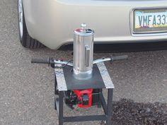 gas powered margarita machine