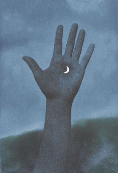 zenderoglu: The night is mine. Rene Magritte - Jupiter in Virgo (1965)