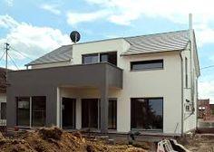Fassadengestaltung einfamilienhaus grau orange  Bildergebnis für haus weiß orange | Hausfasade | Pinterest ...