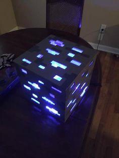 DIY minecraft block.  compleet met uitleg hoe te maken