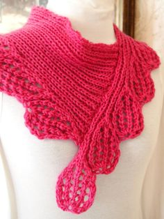 Boysen Berry Cowl PDF Hand Knitting Pattern - lots of interesting patterns in this Etsy Shop.