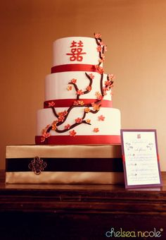 chinese wedding cake 710x1024 Vendor Spotlight: Peridot Sweets