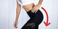 Sabrina Nickel macht Sie fit: Mit zwei einfachen Übungen nehmen Sie schnell am Hintern ab