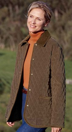 Just found this Quilted Barn Jackets - Country Suede Paddock Jacket -- Orvis on Orvis.com!