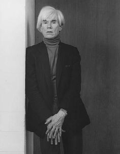 Andy Warhol, by Robert Mapplethorpe. Gelatin silver print Image: x cm x 15 in.) Promised Gift of The Robert Mapplethorpe Foundation to the J. Paul Getty Trust and the Los Angeles County Museum of Art, © Robert Mapplethorpe Foundation Robert Mapplethorpe Photography, Portrait Photography, Fashion Photography, White Photography, Andy Warhol Photography, Editorial Photography, Tv Movie, Getty Museum, Gelatin Silver Print