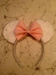 DIY Minnie Ears #lillyears #birthdayears #disneystyle