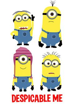 Despicable Me - Minions by Zoe Toseland