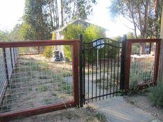 Beautiful Hog Panel Fence