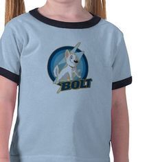 Bolt Logo Disney T Shirt from http://www.zazzle.com/disney+bolt+tshirts