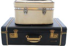 Suitcases, Pair