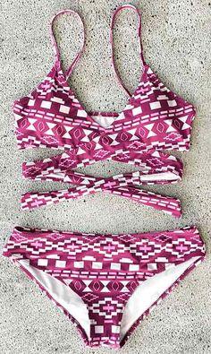 Heart Catcher Bikini Set
