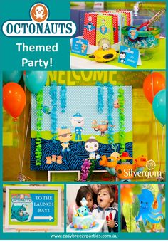 Dive down into the sea with this Octonauts party blog, full of swimmingly good decoration and party game ideas! Read the blog at http://easybreezyparties.com.au/party-inspiration-and-ideas/item/69-octonauts-and-under-the-sea-two-swimmingly-good-parties.html. #octonauts #kidsparty #easybreezyparties