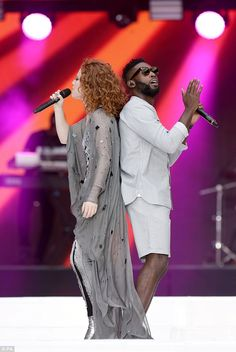 Jess Glynne and Tinie Tempah