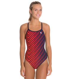 a85d31ed691 TYR Echelon Diamondfit One Piece Swimsuit at SwimOutlet.com - Free Shipping