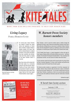 Meet Kosair Kid Whitney Workman Kite Tales August 2008
