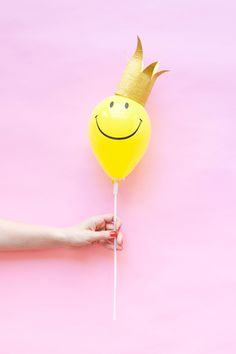 Mini Balloon Hats DIY