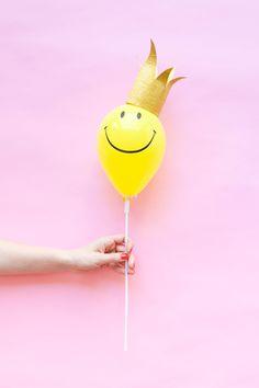 Mini Balloon Hats DIY