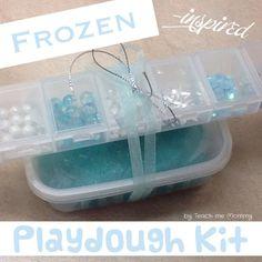 Frozen Playdough Gift