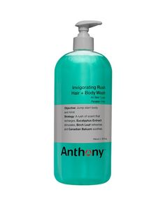 Anthony Invigorating Rush Hair & Body Wash 32 oz.