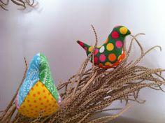 Fabric bird tutorial