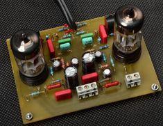 Projekty lampowe - preamp RIAA Valve Amplifier, Vacuum Tube, Turntable, Audio, Circuits, Record Player