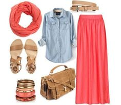 Like this. Comfy casual