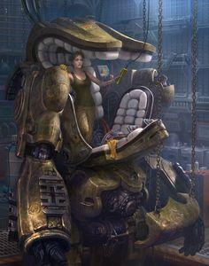 Art by 📸🎨 Kou Takana 🎨📸 * -------ArtStation------- * * Cyberpunk Kunst, Sci Fi Kunst, Gundam, Arte Sci Fi, Sci Fi Art, Science Fiction Kunst, Space Opera, Cyberpunk Aesthetic, Neon Aesthetic