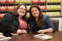 Meeting Chef Guarnaschelli at Dave's!!  Great Photo