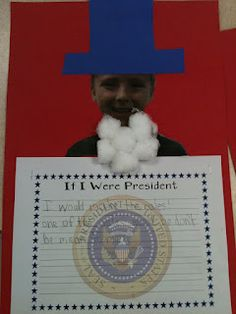 """If I were President"" - Good for Presidents Day as well as for the Election"