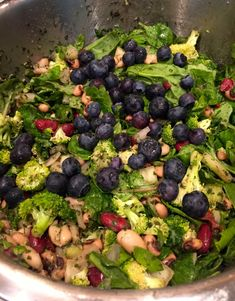 Quick and Easy Lemon and Dill Bean Salad. Pairs well with greens, blueberries, walnuts, and avocado.