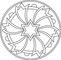 Tutorial: Mandalas con CDs reutilizados                                                                                                                                                                                 Más