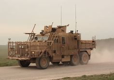 The Wolfhound is a six-wheeled variant of the acclaimed Mastiff, which provides troops with increased protection as they support missions in high-threat areas. This heavy-armoured truck is part of the Tactical Support Vehicles (TSV) group along with the Husky and the Coyote. The TSV fleet is used to accompany front line patrols and carry essential combat supplies such as water and ammunition.