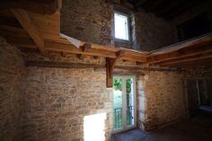 Maison en pierre - Dordogne - Nouvelle fenêtre et portes - Stone house