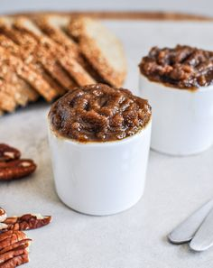 Roasted pecan pumpkin butter on toast is a delicious fall morning meal!