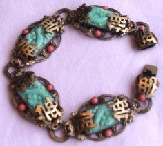 Neiger bracelet in the Oriental style.  Photograph Gillian Horsup.