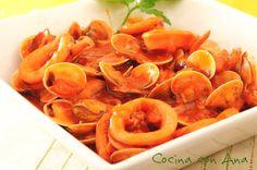 Calamares en salsa de Pedro Ximenez