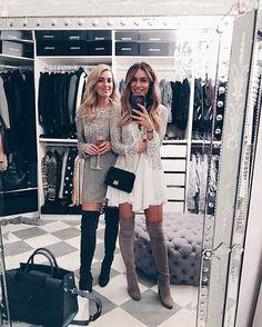 Copines de cuissardes ;) (@lydiaemillen & @iamchouquette)