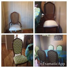 Dining Room Chair Upholstery Redo