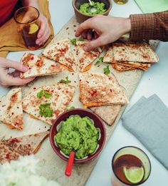 Speedy Sweet Potato Quesadillas | Recipe from A Modern Way to Eat: 200+ Satisfying Vegetarian Recipes (That Will Make You Feel Amazing) Anna Jones
