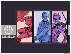 Agents of S.H.I.E.L.D. by pagebranson