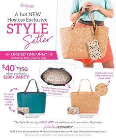 Hosting really pays off!! #thirtyone #hostess #cork #stylesetter www.mythirtyone.com/cindyrodgers