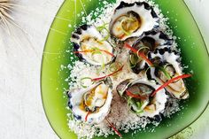 Summer entertaining has never been easier with these fast and fresh Asian-style oysters.