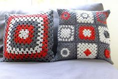 My Year of Crafting Dangerously: Crochet cushion covers