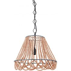 The Baha chandelier is a stunning contemporary replica of the old clay chandeliers found in Europe. Each bead on the Baha chandelier is hand-crafted from solid timber and then painted, making each piece characteristically unique. Ideal for any modern or classically styled living space, the Baha chandelier is sure to impress in any setting. All chandeliers need to be installed by a qualified electrician.