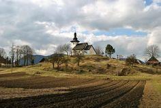 Slovakia, Martinček - Church of St. Martin