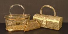 Vintage Lucite Purses and Coin Purse